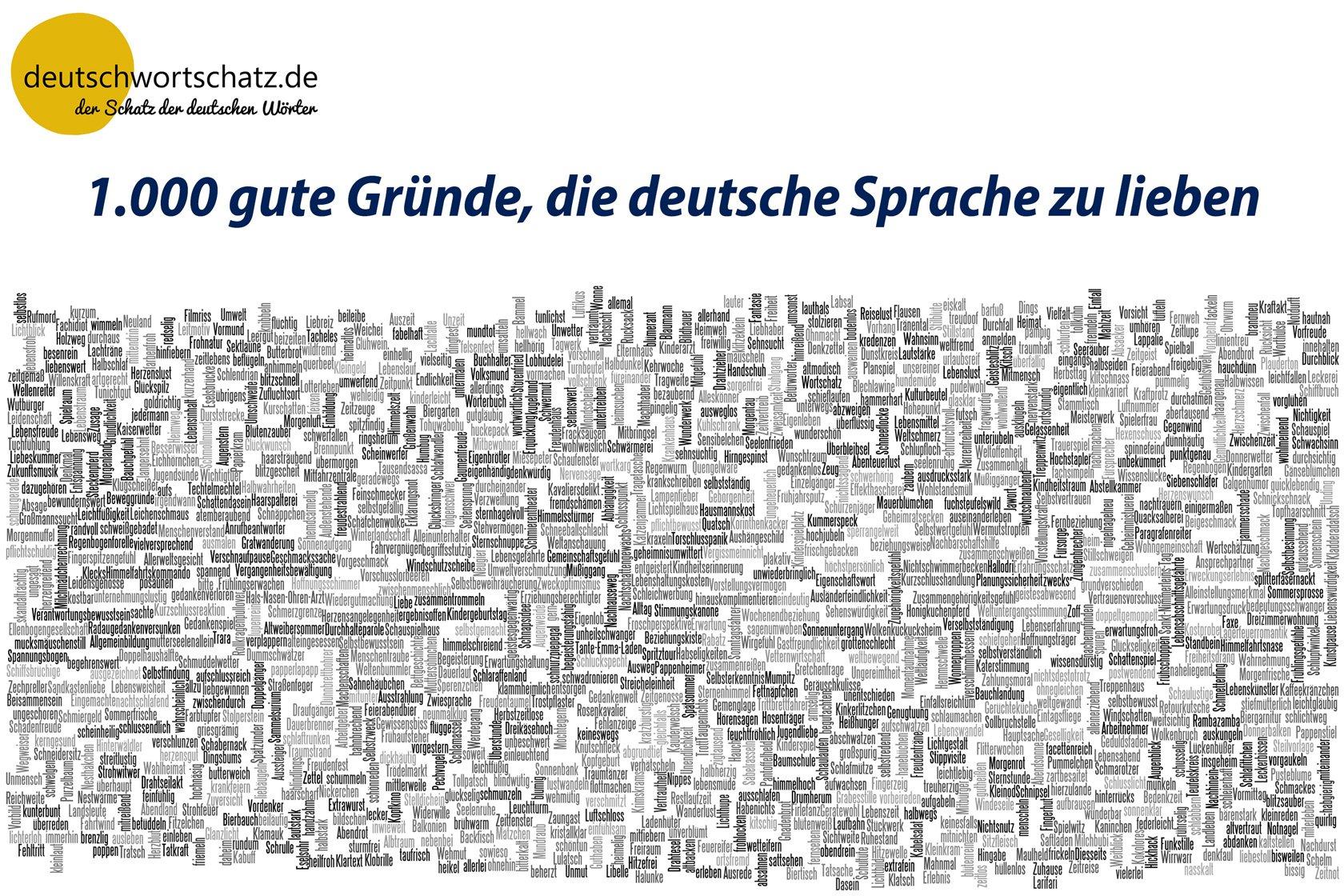 deutsche Sprache - Deutsch Wortschatz - deutsche Wörter -