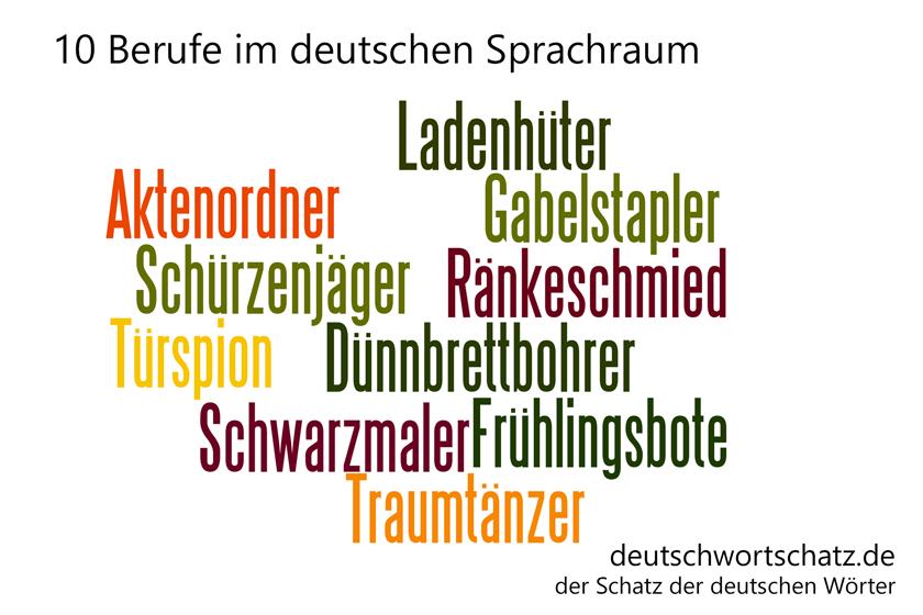 - Berufe Deutsch Wortschatz