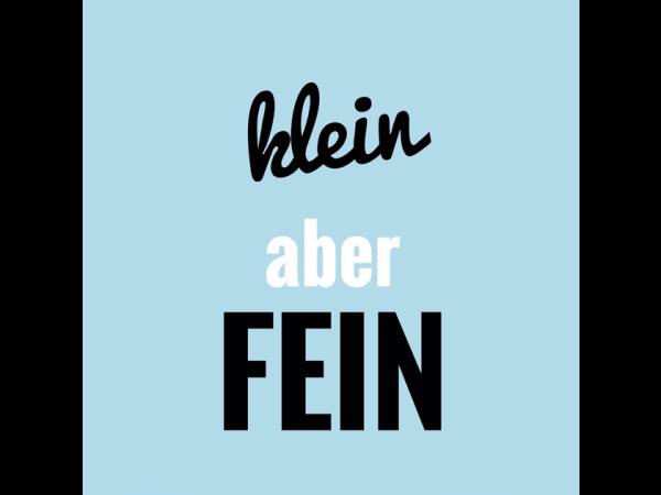 klein aber fein - kurze deutsche Wörter