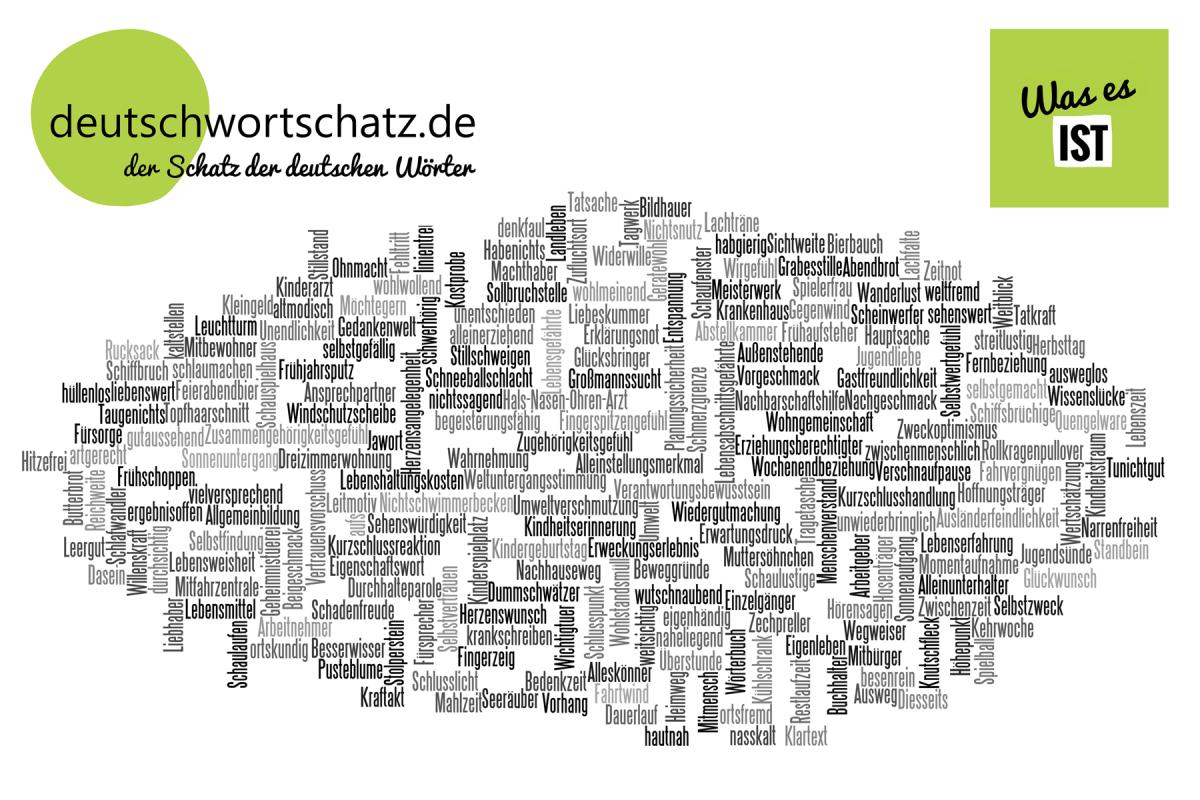 Was es ist - deutsche Wörter