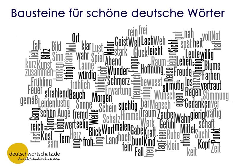 Wörterbasteln - Bausteine