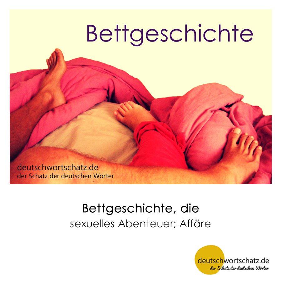 Bettgeschichte - Wortschatz mit Bildern lernen - Deutsch lernen