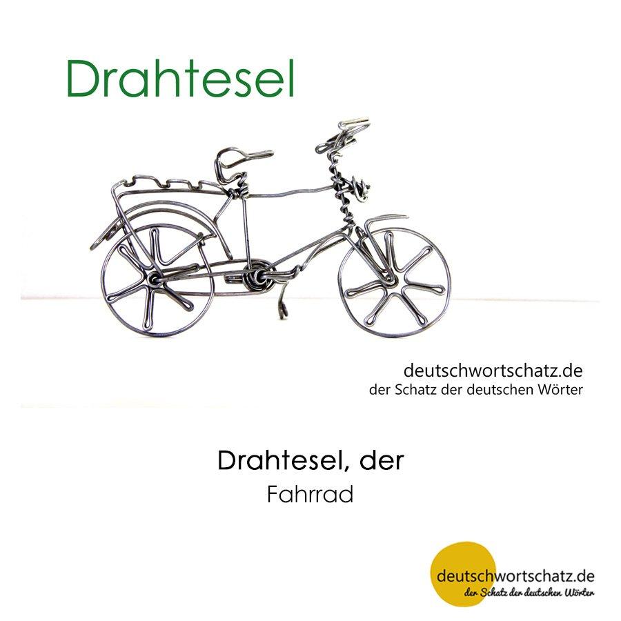 Drahtesel - Wortschatz mit Bildern lernen - Deutsch lernen