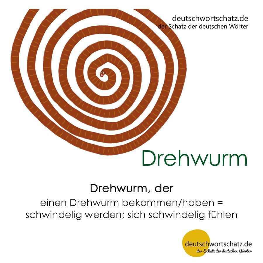 Drehwurm - Wortschatz mit Bildern lernen - Deutsch lernen