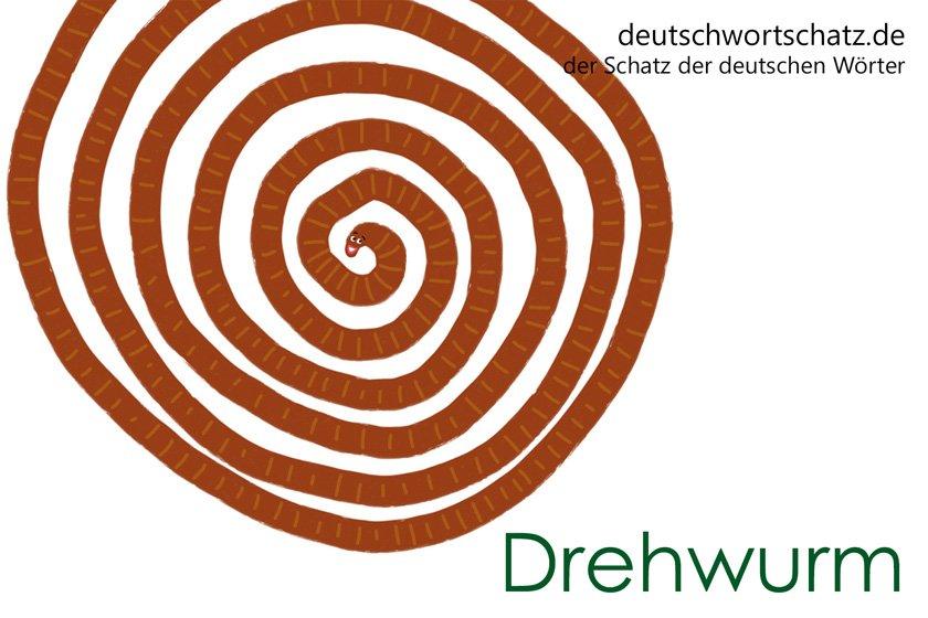 Drehwurm - die schönsten deutschen Wörter- Tiere auf Deutsch