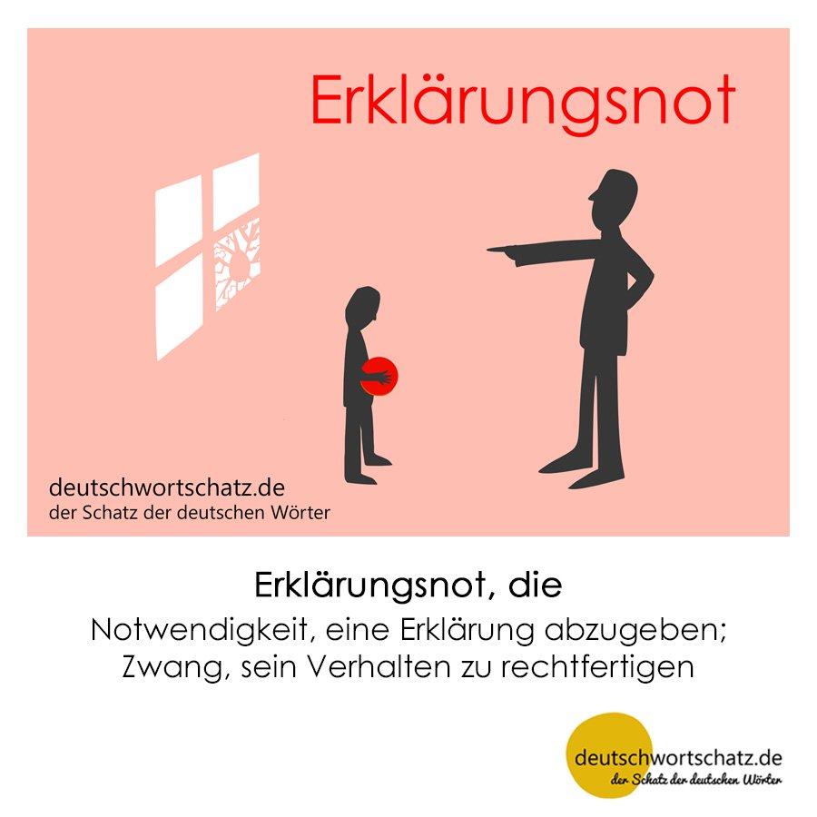 Erklärungsnot - Wortschatz mit Bildern lernen - Deutsch lernen