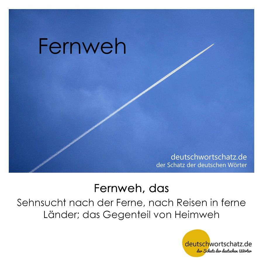 Fernweh - Wortschatz mit Bildern lernen - Deutsch lernen