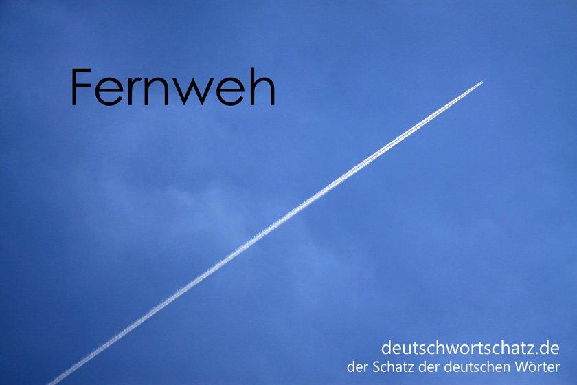 Fernweh - die schönsten deutschen Wörter