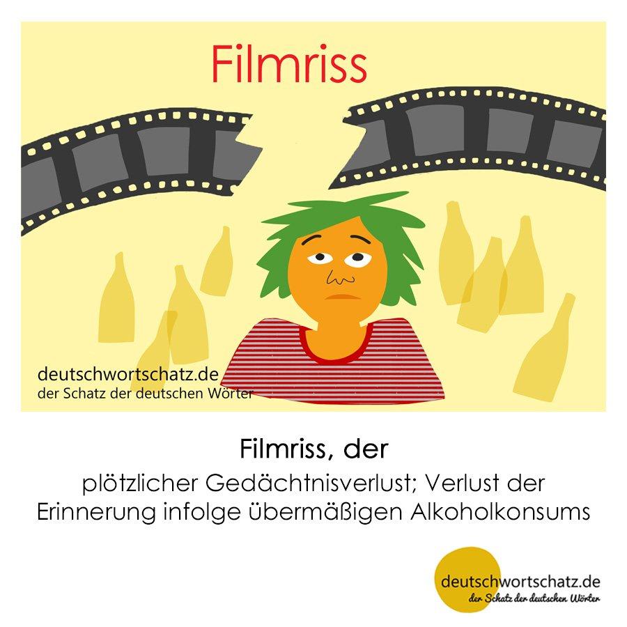 Filmriss - Wortschatz mit Bildern lernen - Deutsch lernen