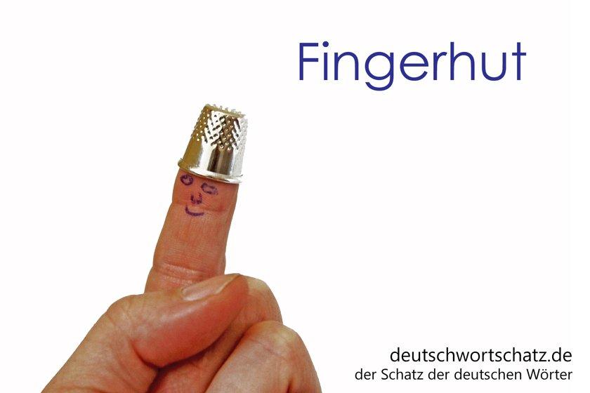 Fingerhut - Nähen - Handarbeit