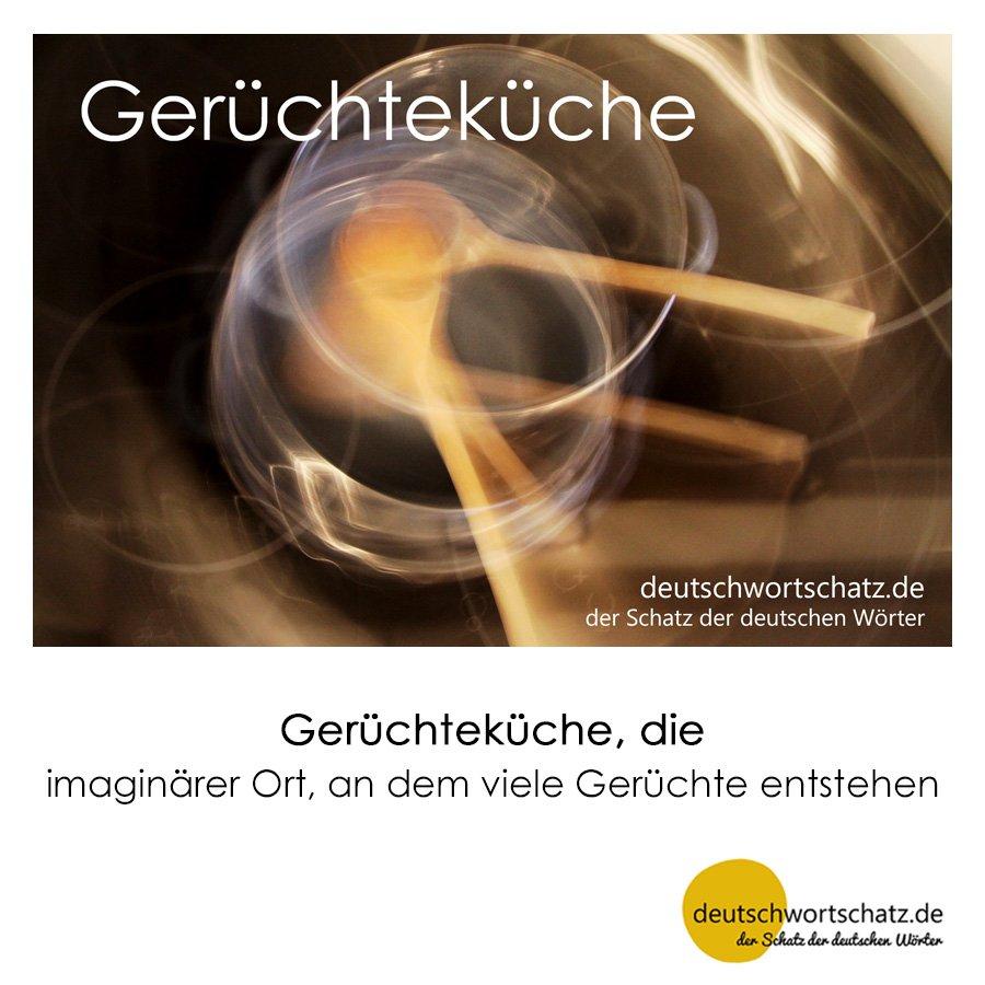 Gerüchteküche - Wortschatz mit Bildern lernen - Deutsch lernen