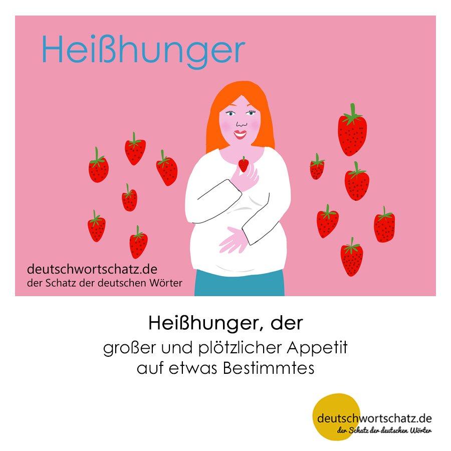 Heißhunger - Wortschatz mit Bildern lernen - Deutsch lernen