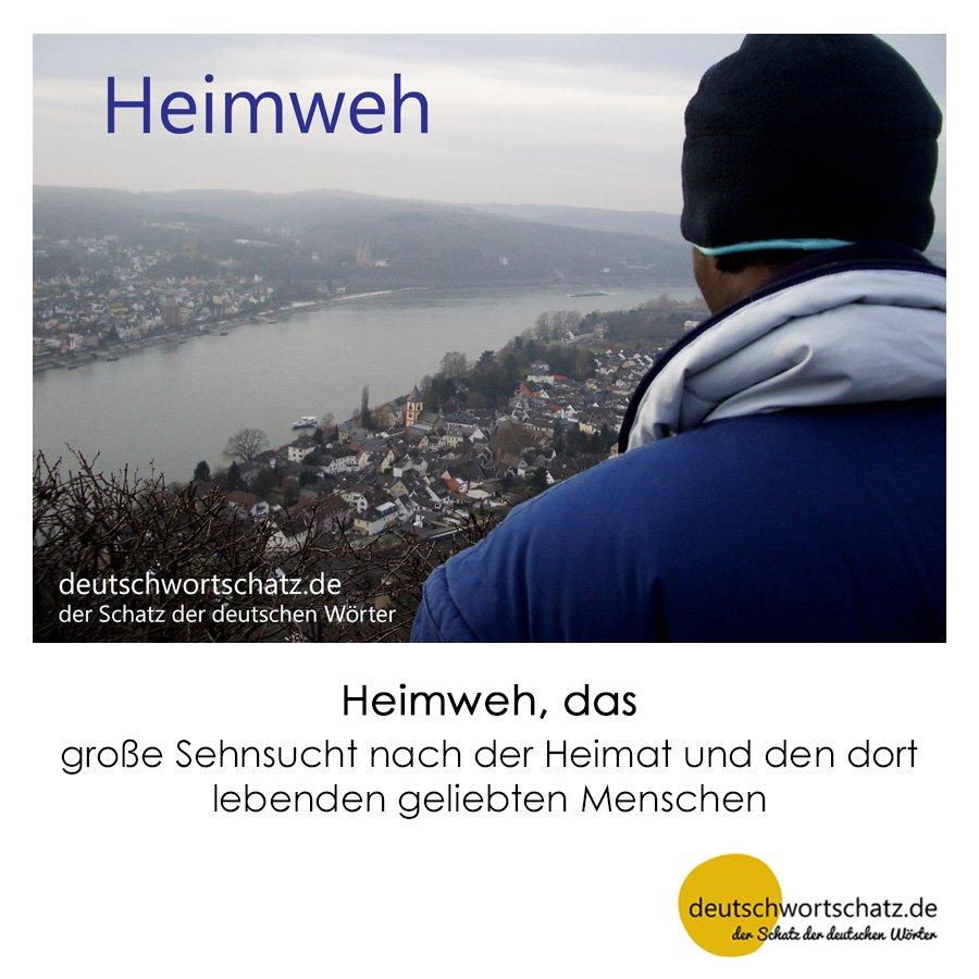 Heimweh - Wortschatz mit Bildern lernen - Deutsch lernen