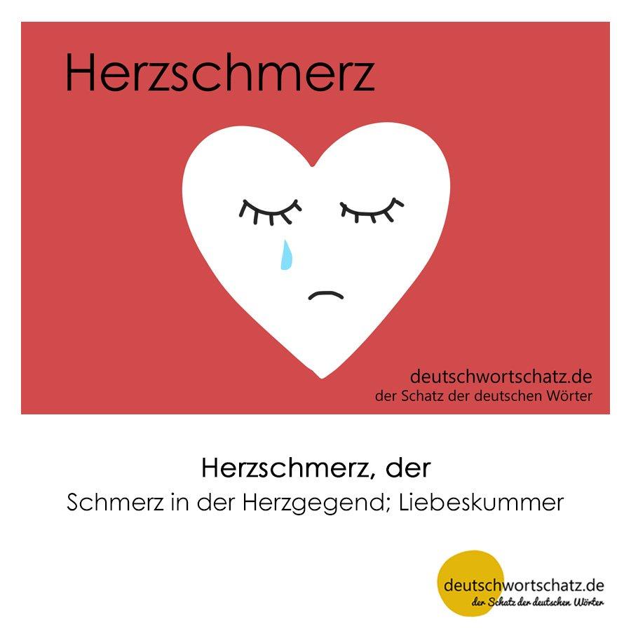 Herzschmerz - Wortschatz mit Bildern lernen - Deutsch lernen