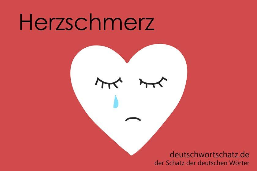 Herzschmerz - die schönsten deutschen Wörter