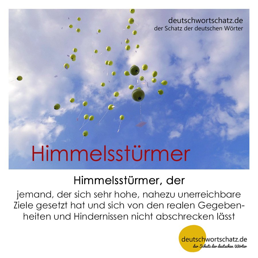 Himmelsstürmer - Wortschatz mit Bildern lernen - Deutsch lernen