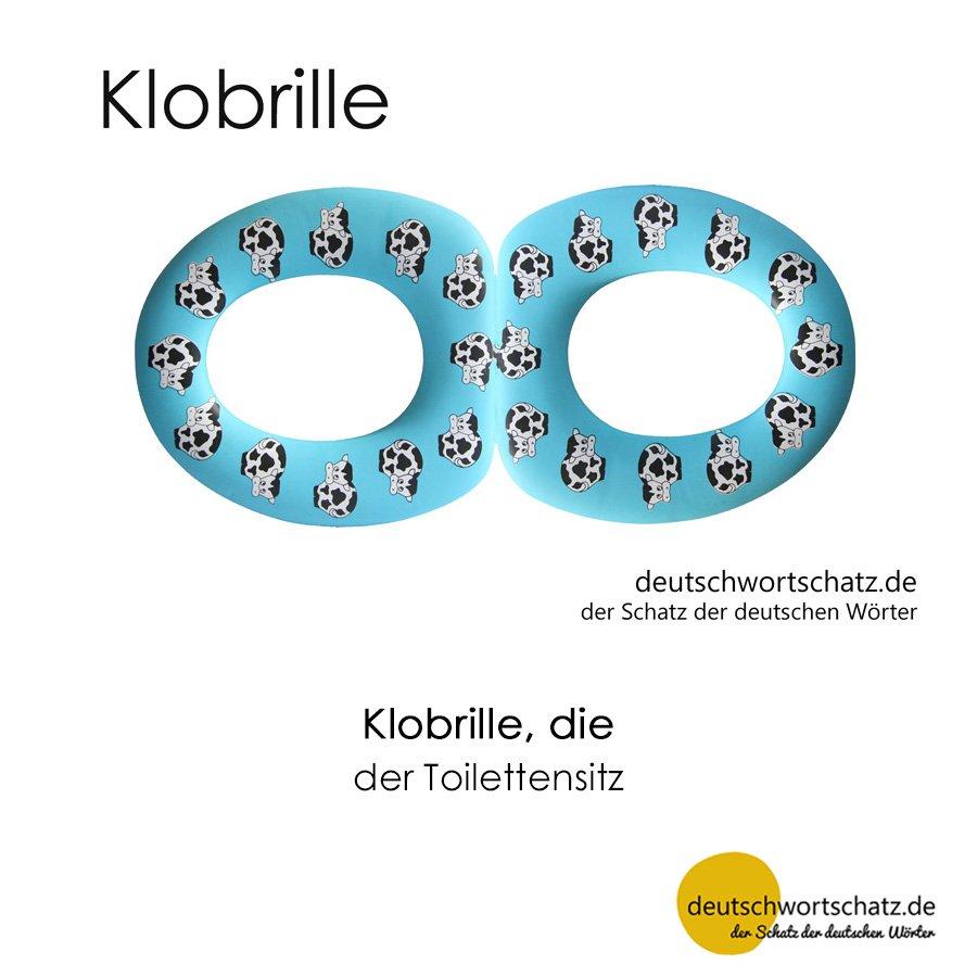 Klobrille - Wortschatz mit Bildern lernen - Deutsch lernen