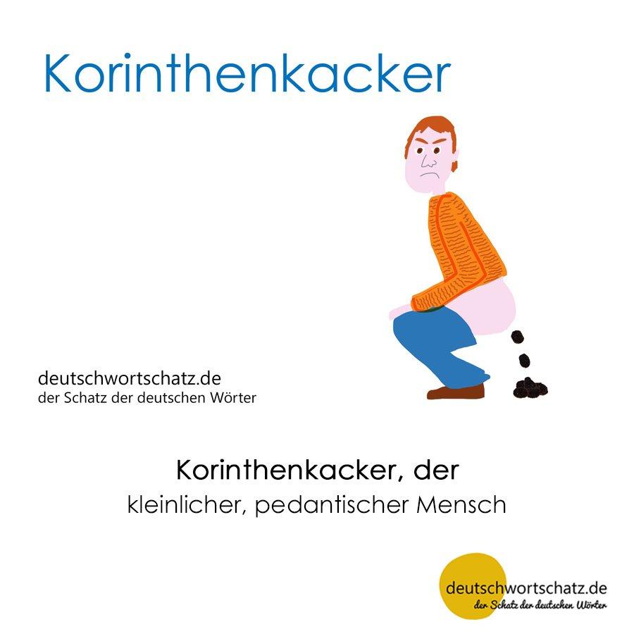 Korinthenkacker - Wortschatz mit Bildern lernen - Deutsch lernen