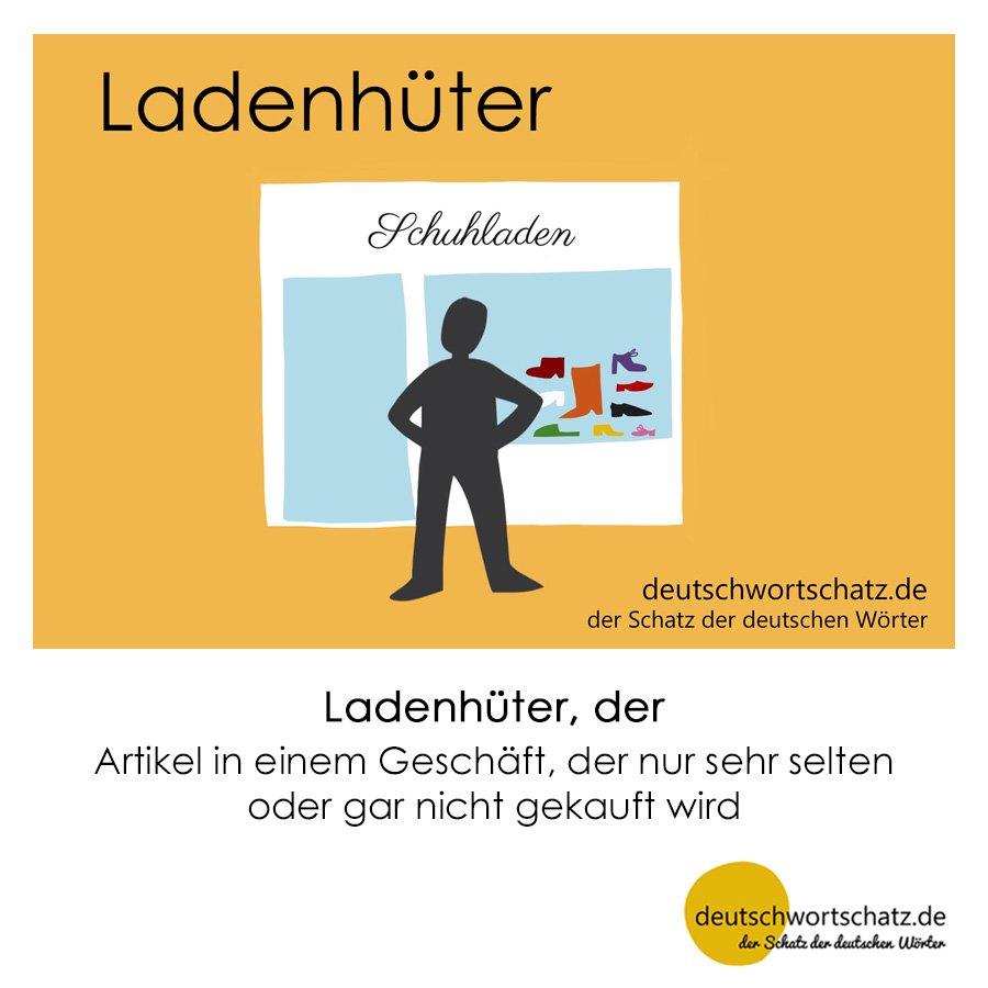 Ladenhüter - Wortschatz mit Bildern lernen - Deutsch lernen