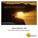 Lebensabend - Wortschatz mit Bildern lernen - Deutsch lernen