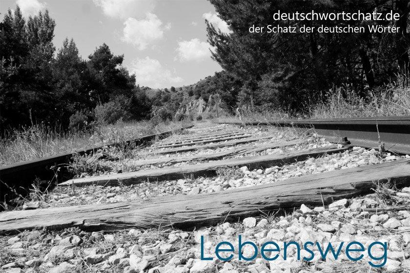 Lebensweg - die schönsten deutschen Wörter - Deutsch Wortschatz