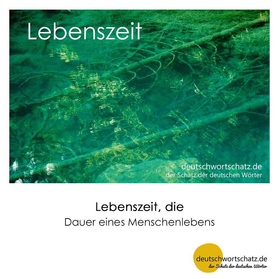 Lebenszeit - Wortschatz mit Bildern lernen - Deutsch lernen