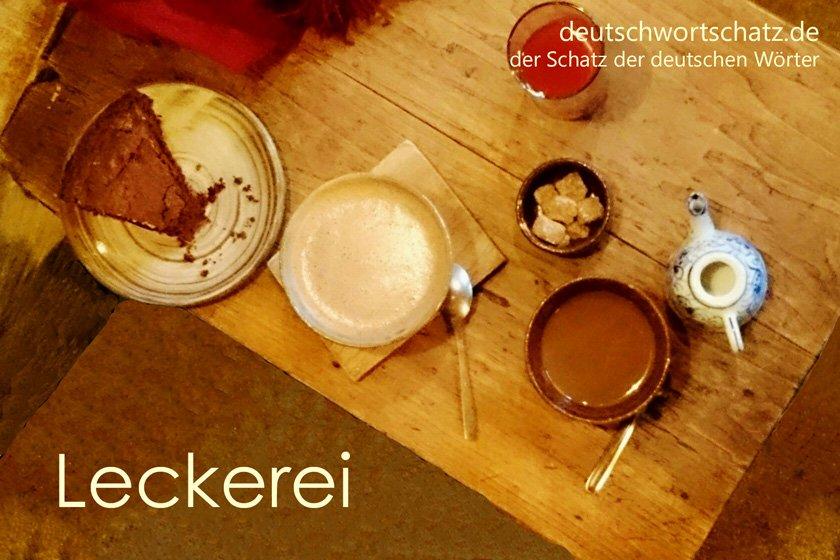 Leckerei - die schönsten deutschen Wörter