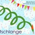 Luftschlange - die schönsten deutschen Wörter