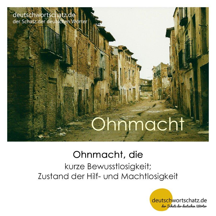 Ohnmacht - Wortschatz mit Bildern lernen - Deutsch lernen