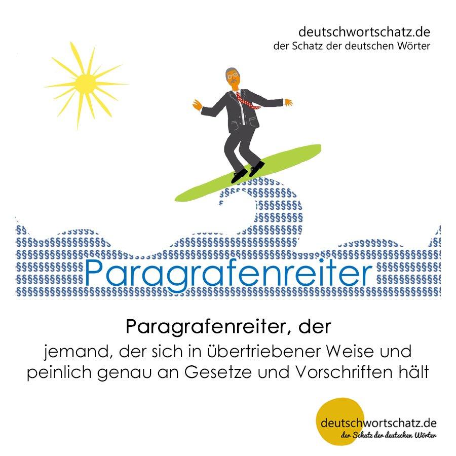 Paragrafenreiter - Wortschatz mit Bildern lernen - Deutsch lernen