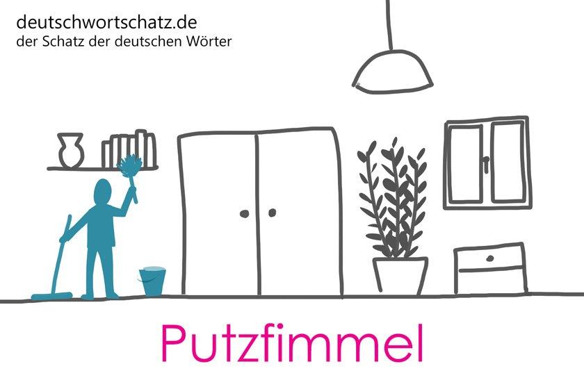 Putzfimmel - die schönsten deutschen Wörter