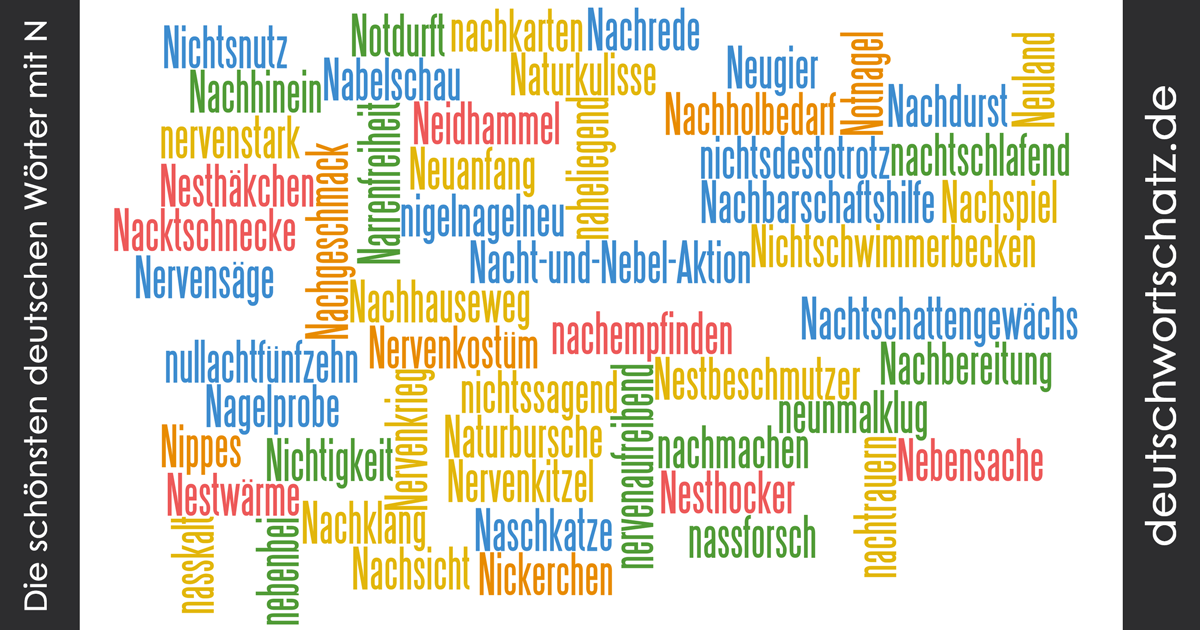 deutsche wortsch228tze mit n sch246ne deutsche w246rter mit n