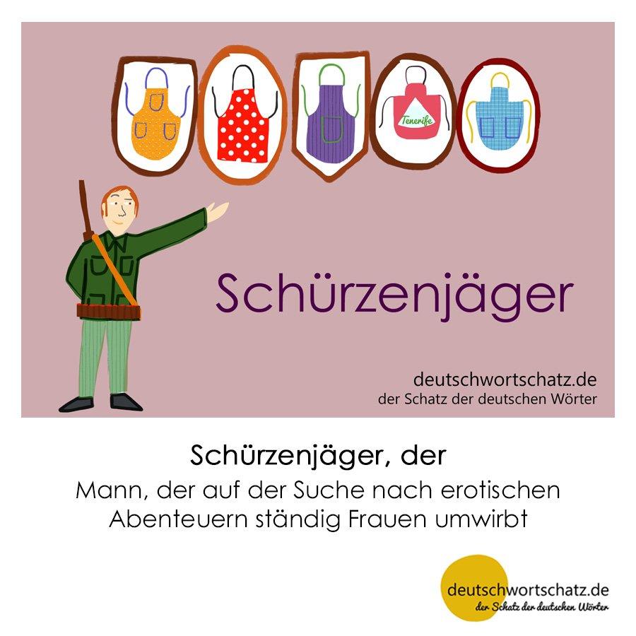 Schürzenjäger - Wortschatz mit Bildern lernen - Deutsch lernen