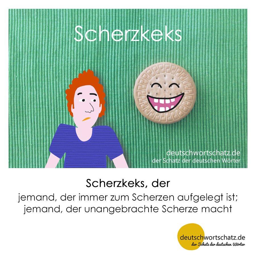 Scherzkeks - Wortschatz mit Bildern lernen - Deutsch lernen