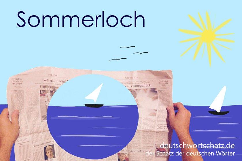 Sommerloch - die schönsten deutschen Wörter