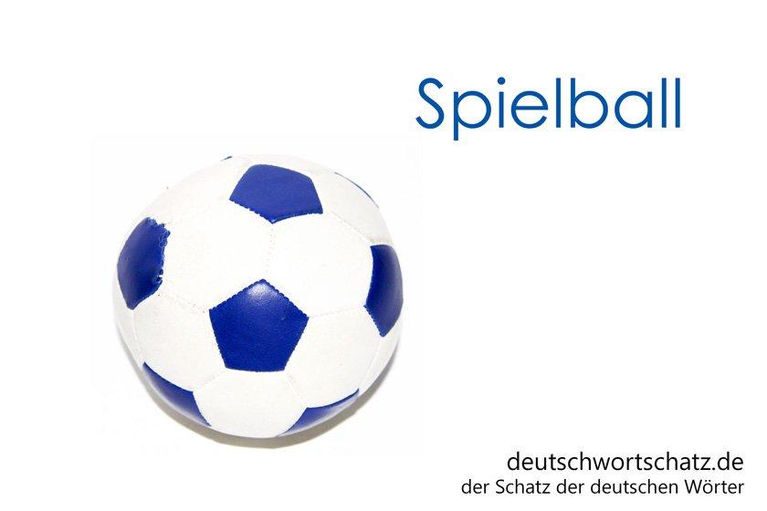 Spielball - Wörter Deutsch - Ball - Fußball