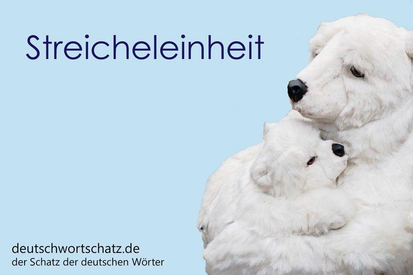 Streicheleinheit - die schönsten deutschen Wörter