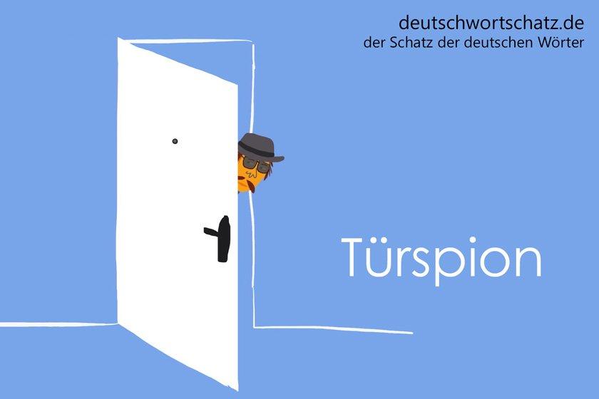 Türspion - die schönsten deutschen Wörter - Berufe Deutsch Wortschatz