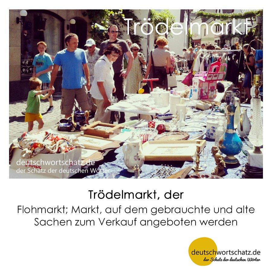 Trödelmarkt - Wortschatz mit Bildern lernen - Deutsch lernen