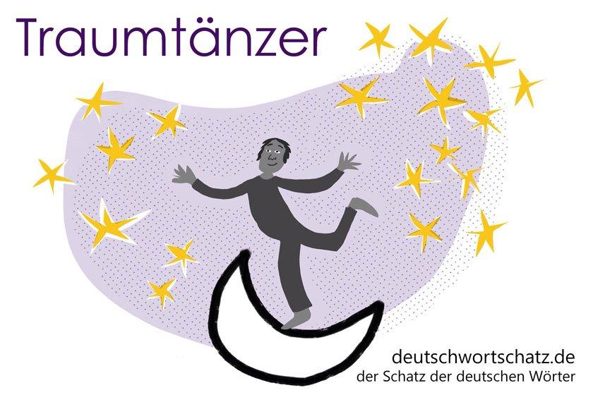 Traumtänzer - die schönsten deutschen Wörter - Berufe Deutsch Wortschatz