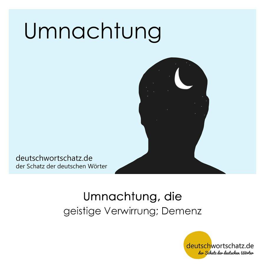 Umnachtung - Wortschatz mit Bildern lernen - Deutsch lernen