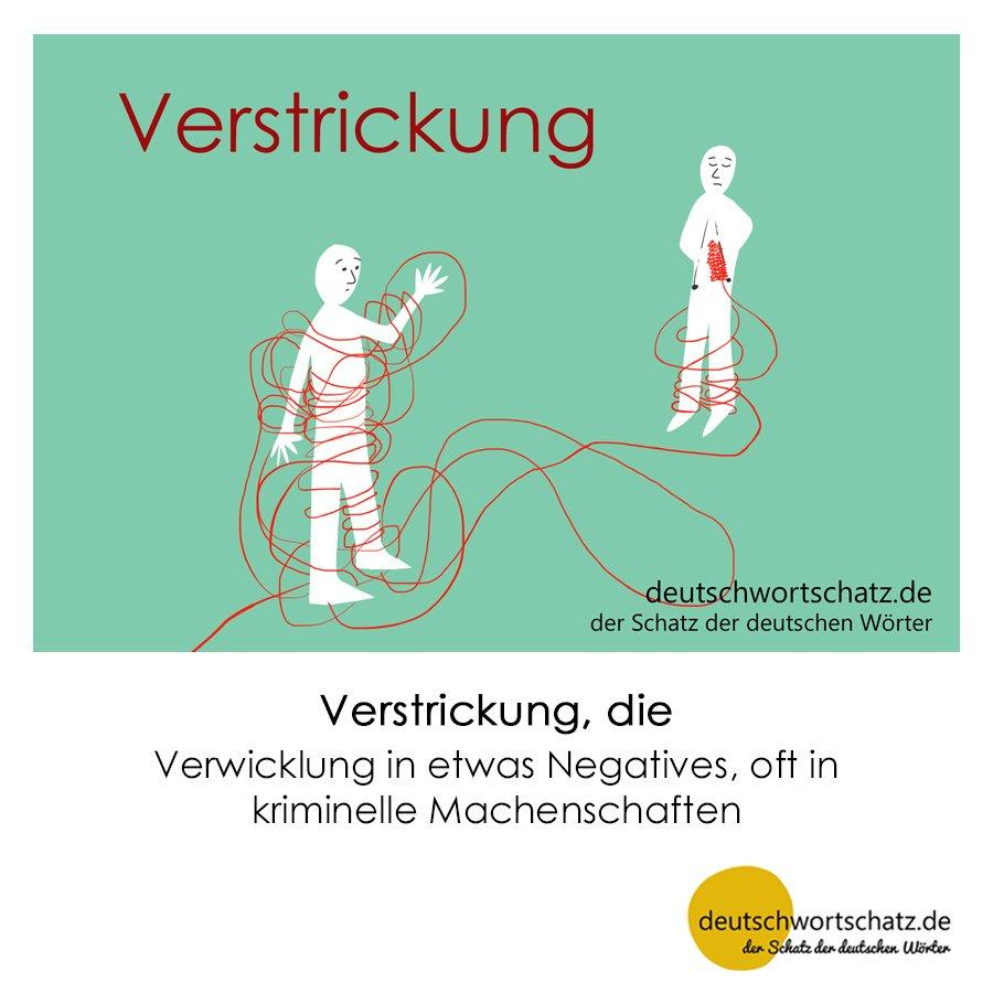 Verstrickung - Wortschatz mit Bildern lernen - Deutsch lernen