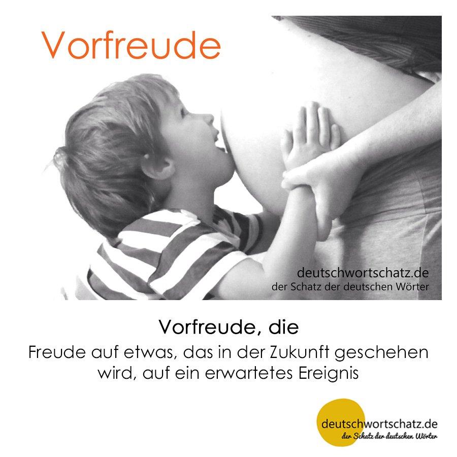 Vorfreude - Wortschatz mit Bildern lernen - Deutsch lernen