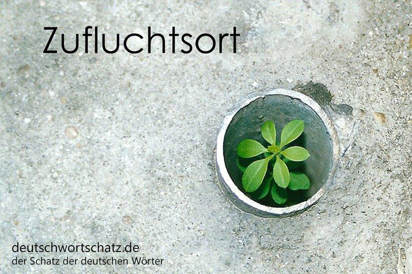 Zufluchtsort - die schönsten deutschen Wörter