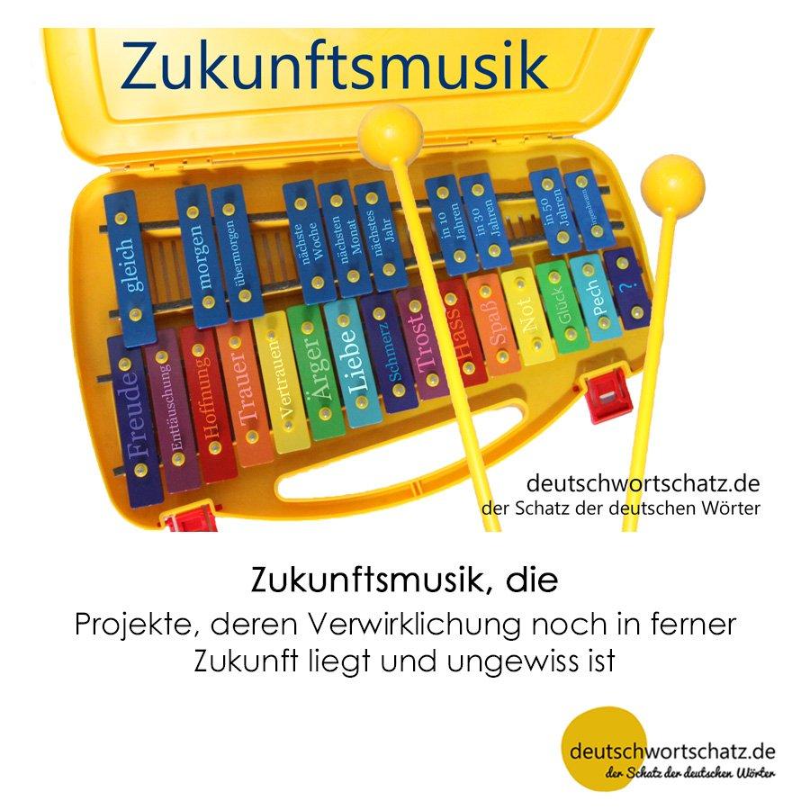 Zukunftsmusik - Wortschatz mit Bildern lernen - Deutsch lernen