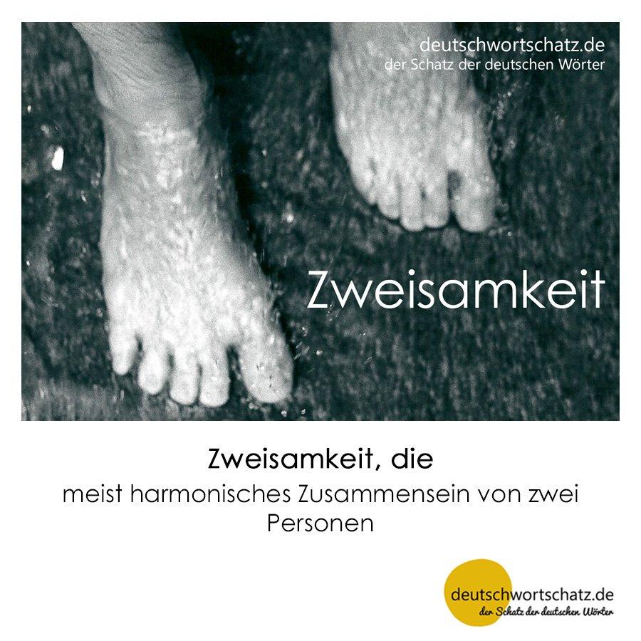 Zweisamkeit - Wortschatz mit Bildern lernen - Deutsch lernen