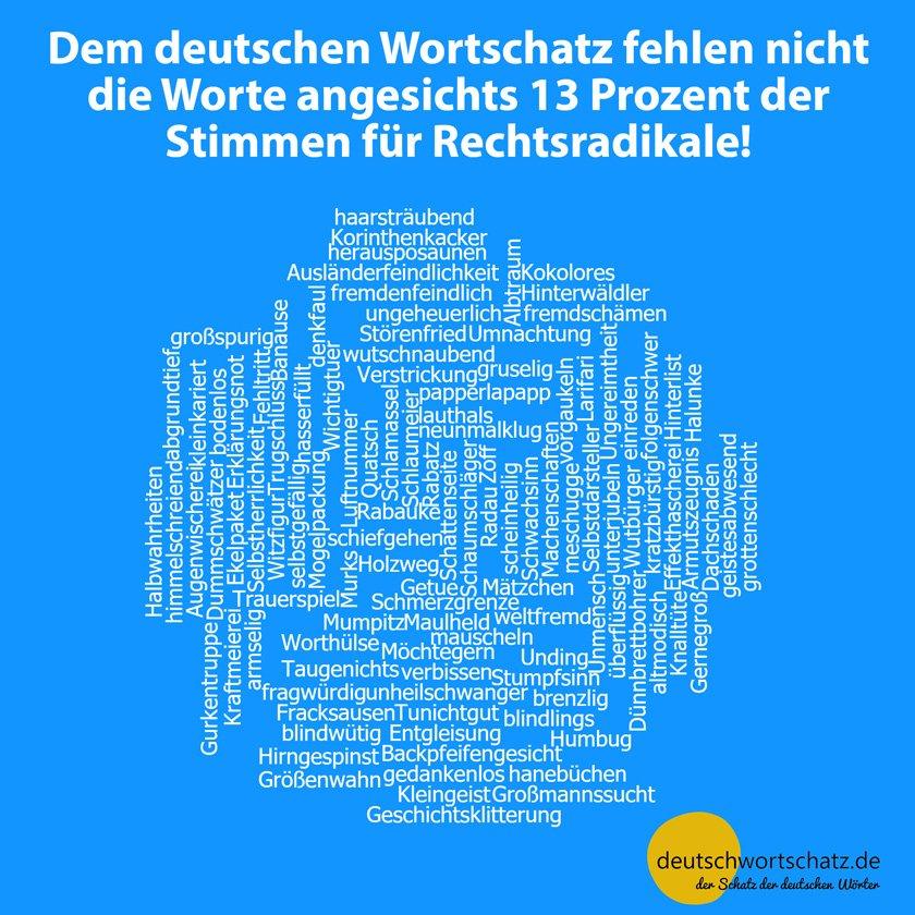 AfD im Bundestag - Rechtsradikale - AfD - Nazis - Deutscher Wortschatz - Bundestagswahl