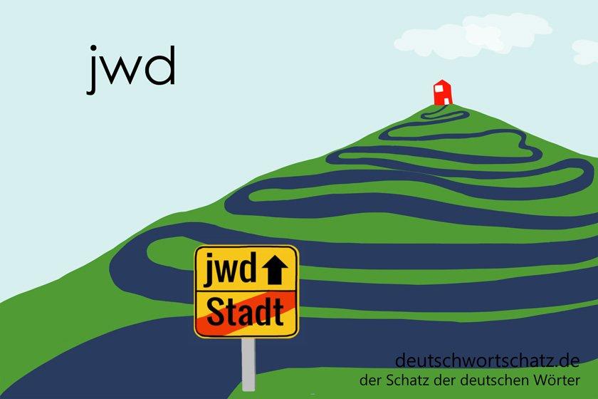 jwd - die schönsten deutschen Wörter