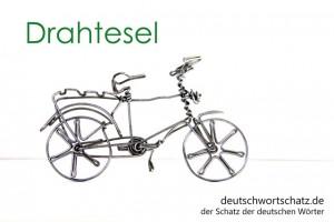 Drahtesel - Deutsch Wortschatz - Wortschatzbilder