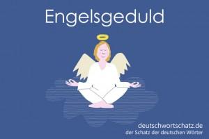 Engelsgeduld - Deutsch Wortschatz - Wortschatzbilder